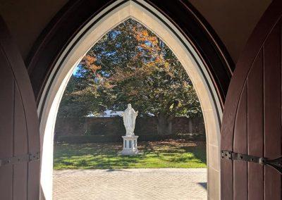 Chapel entry way